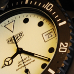 Heuer Quartz 200 Metres Professional 980.031 James Bond watch (photograph ©2011 All Rights Reserved. USA)