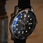Omega 2541.80 Seamaster quartz James Bond watch, GoldenEye